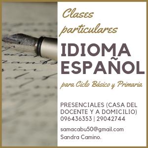 Aviso clases español